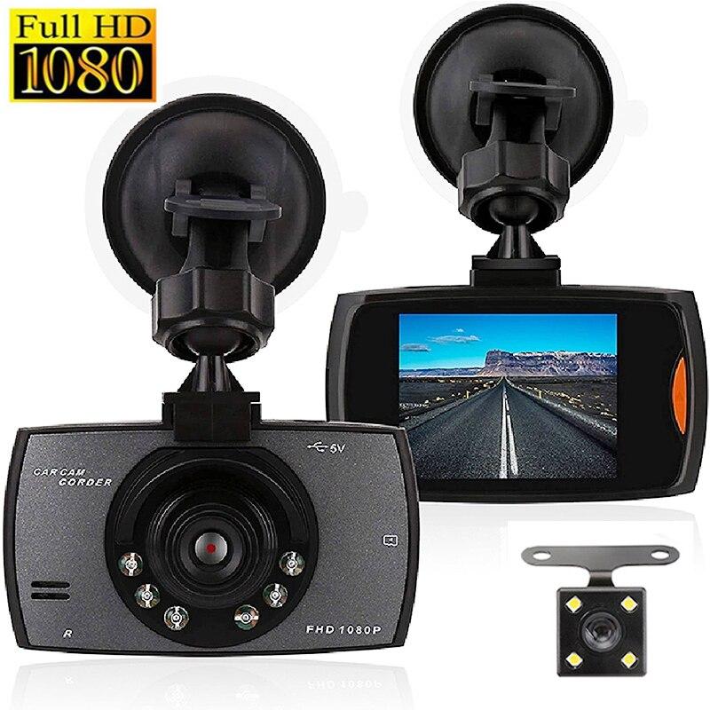 G30 Auto DVR Dash Kamera Rückansicht Dual Objektiv Video Recorder 1080P HD 2.2