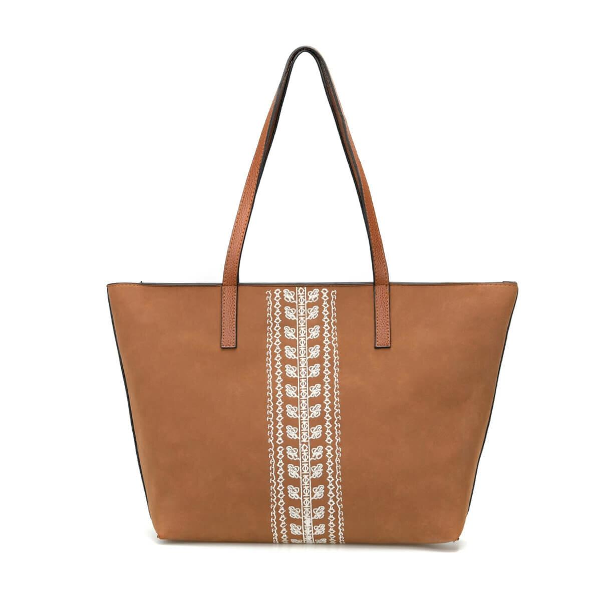 FLO WPRC1011 Brown Women Shoulder Bag BUTIGO