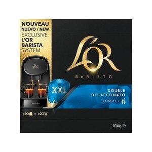 Double Decaffeinato L or 10 capsules XXL system L 'or Barista