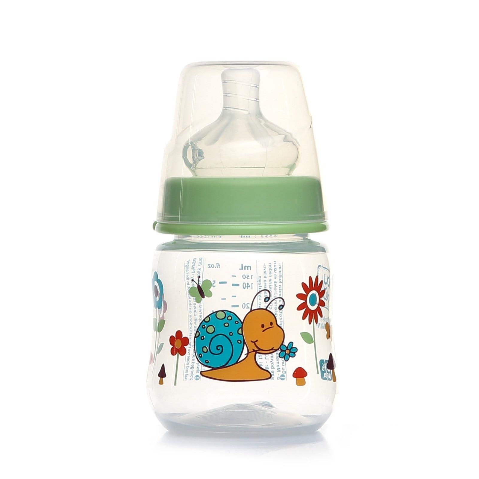 Ebebek Baby&plus Wide-Neck PP Bottle 150 Ml