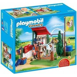 Playmobil Horse Grooming Station cleaning Set for Horses, multicolour
