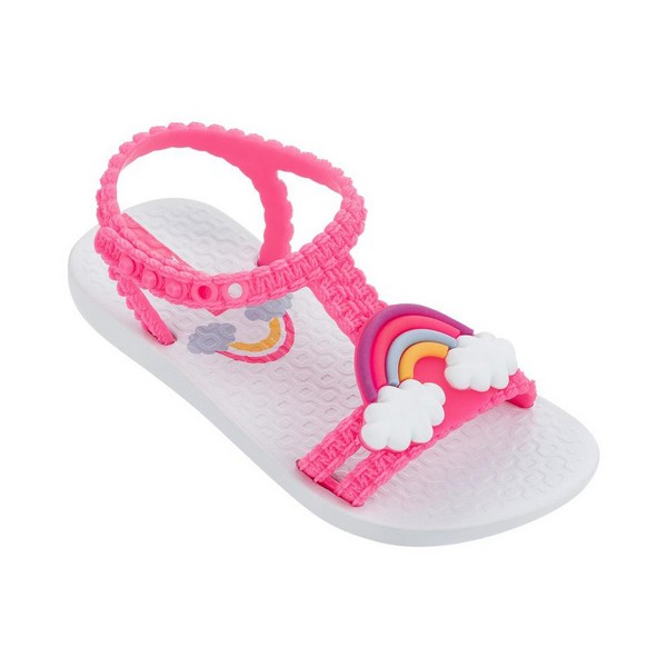 Flip Flops Rider My First Ipanema III White Pink