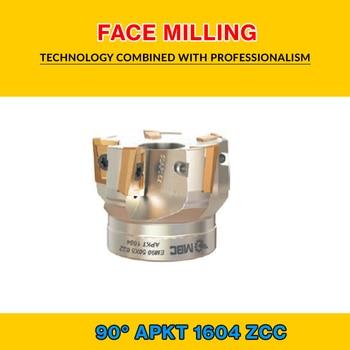 TK AP 16 001 ZCC FACE MILLING EM90 40X4 016 APKT 1604