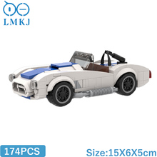 MOC-Shelbying 427 S/C Racing Building Blocks High-Tech Super Car Model Bricks Decor Vehicle Toys For Children Collection Gifts