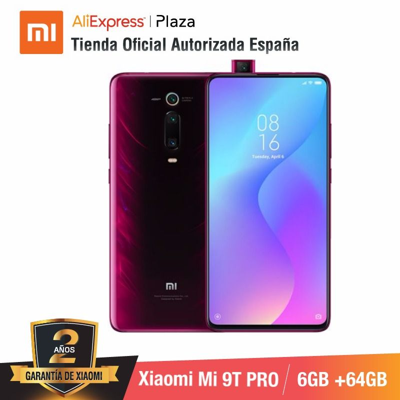 Фото. Глобальная версия для Испании] смартфон Xiaomi Mi 9T PRO Memoria interna de 64 ГБ, ram de 6 ГБ, Tri