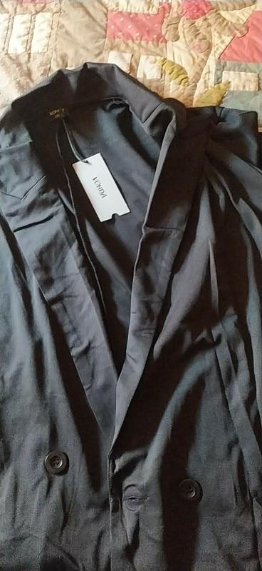 Fashion Jackets Women Coat Plus Size VONDA 2020 Spring Autumn Female Long Sleeve Lapel Black Blazer Elegant Work Blazer Feminina reviews №1 123152