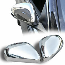 Chrome rear view enclosures for Alfa Romeo 159 (2005-2011) stainless steel