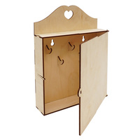 L 952 wooden billet housekeeper with door 21*5,5*27,5 cm Astra