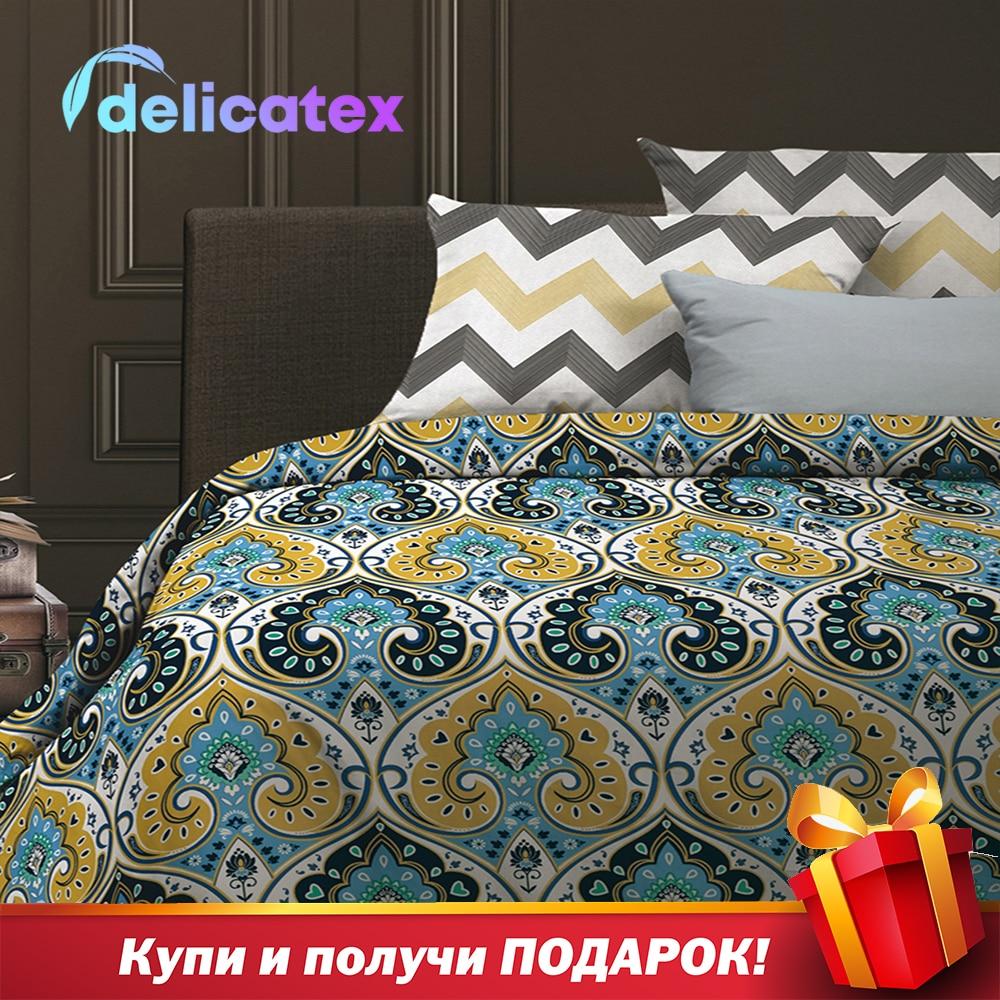 Ensemble de literie délicat 6528-1 + 6529-1Persia maison Textile draps de lit linge housses de coussin housse de couette yaillowcase