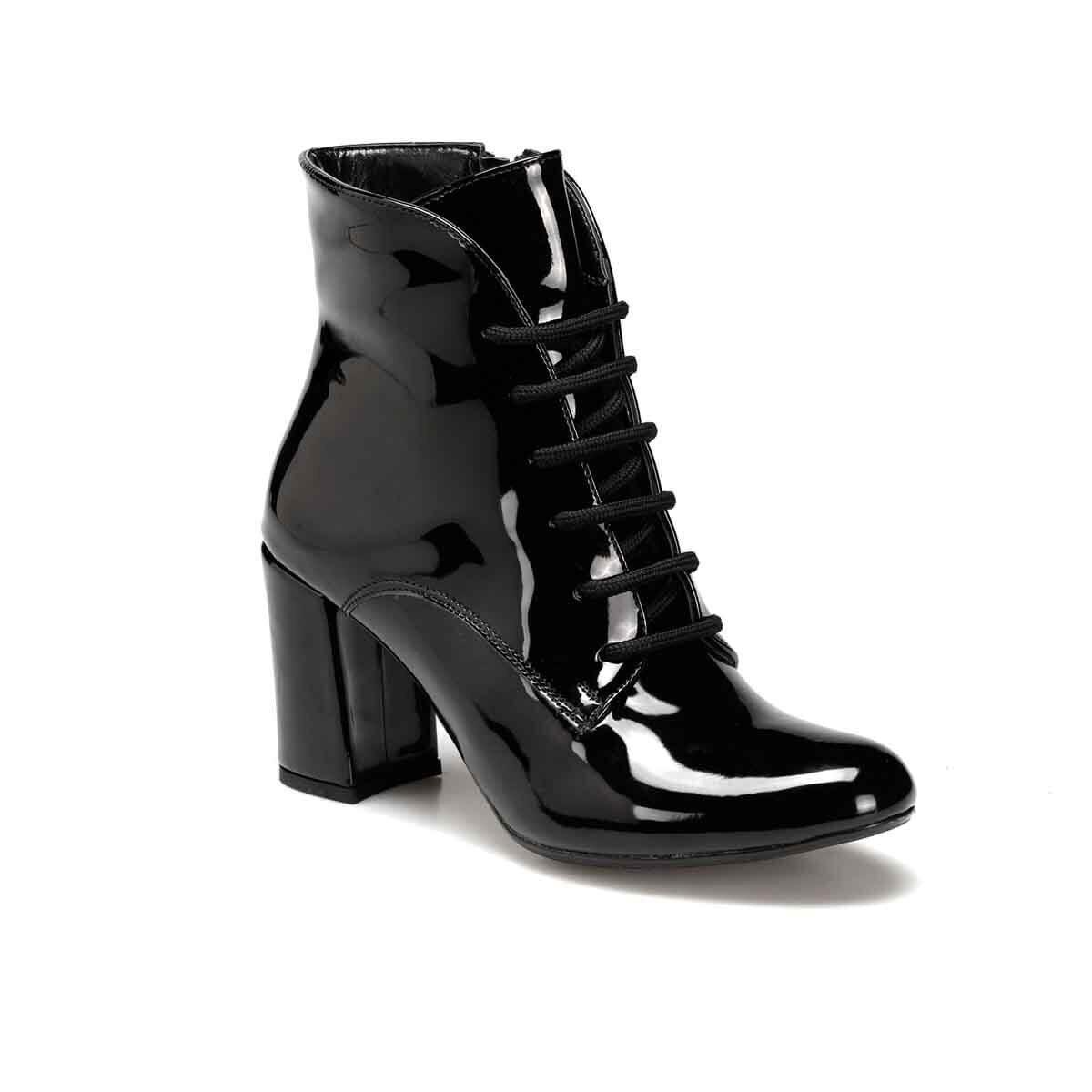 FLO BOW Black Female High-Heeled Boots BUTIGO