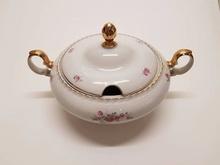 Stary ÇEKOSLAVAK grzywny porcelany zupy TENCERESİ_BEG_2914 429538473 tanie tanio