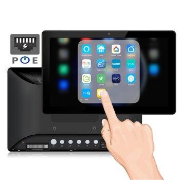 10 pulgadas de montaje en pared PoE Android Tablet pc (Rooted, código...