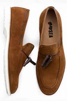 DeepSEA Male Tan Luxury Sports Shoes Casual Suede High Quality Eva Outsole Wedding Business Party Oxford 1909799