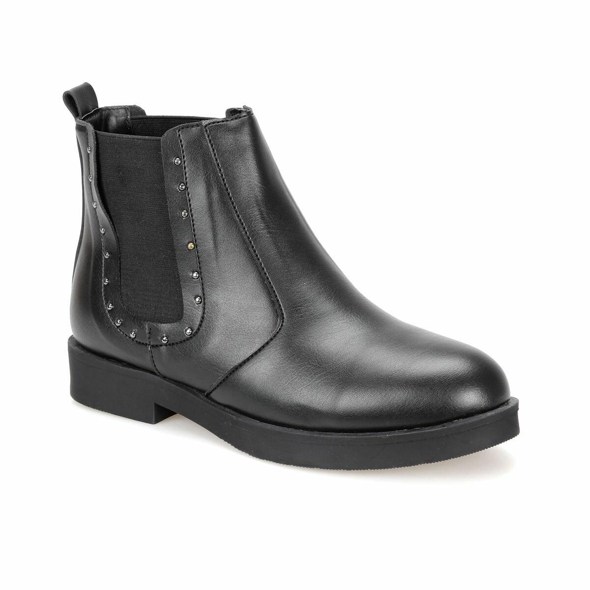 FLO DW18074 Black Women Boots Art Bella Ankle Boots     - title=