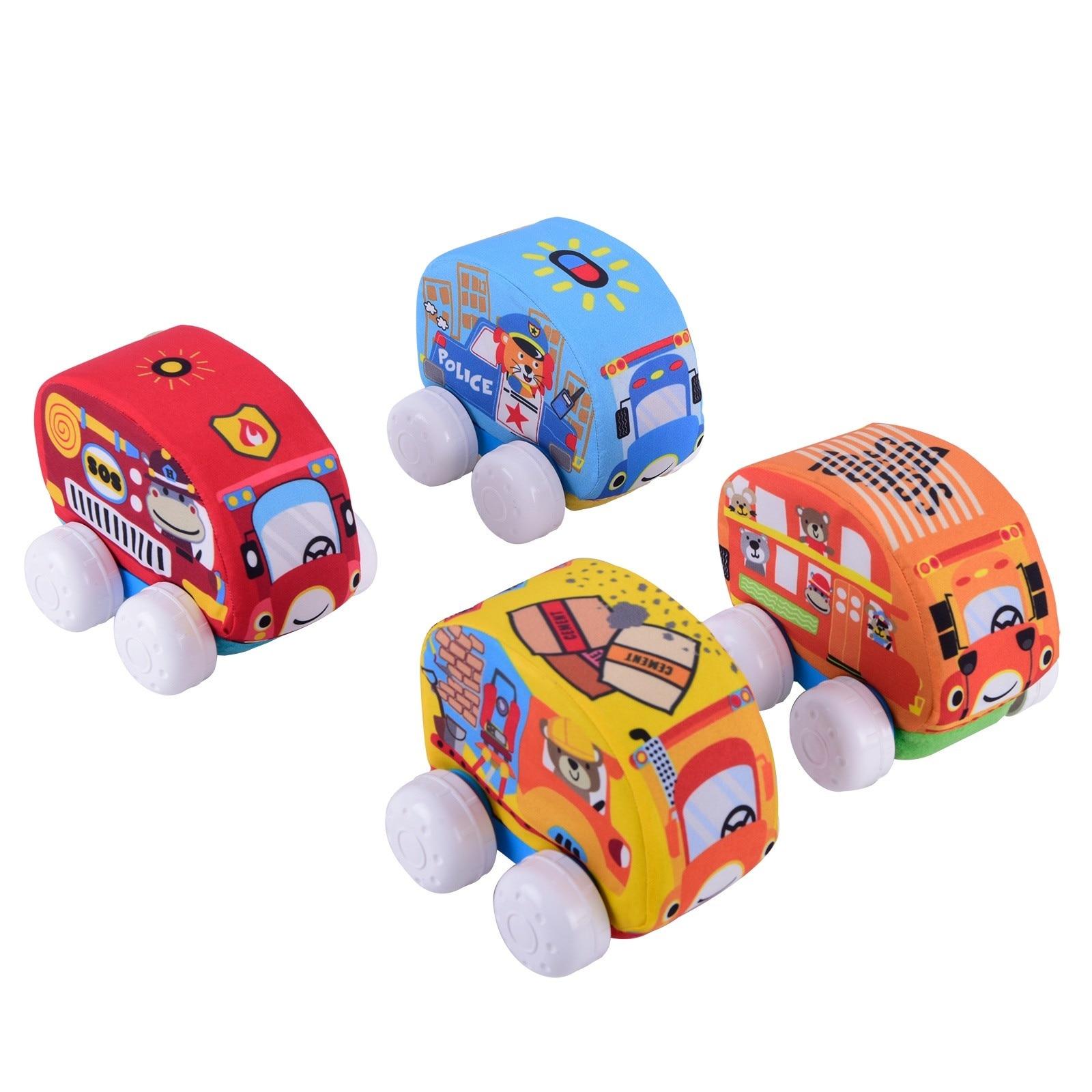 Ebebek Zuzu Plush Baby Toy Car 1 Pcs
