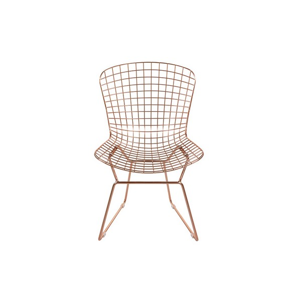Dining Chair Metalic Curve (53 X 83 X 59 Cm)