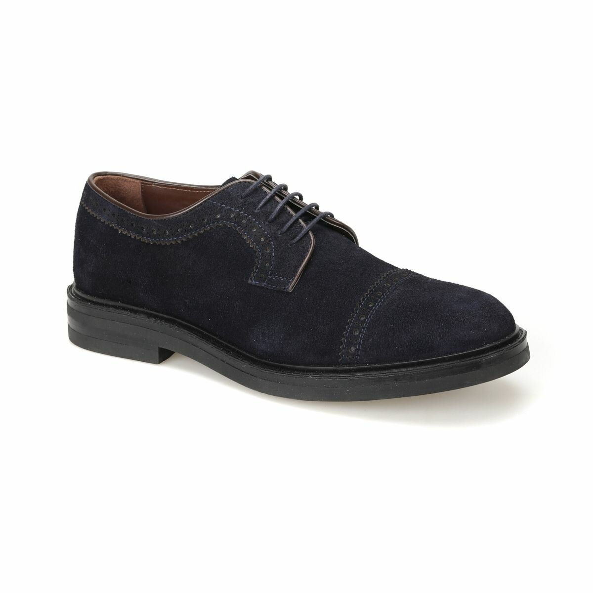 FLO 948-1 Navy Blue Men 'S Classic Shoes Garamond