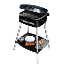 Cecotec Barbacoa eléctrica PerfectCountry BBQ con 2000 W de potencia, superficie de cocinado mixta con revestimiento