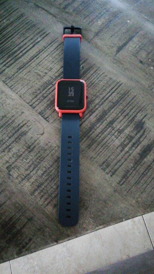 Amazfit Bip Smart Watch Bluetooth GPS Sport Heart Rate Monitor IP68 Waterproof Call Reminder Amazfit APP Notification Vibration Smart Watches    - AliExpress