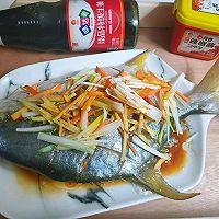 清蒸金鲳鱼的做法图解8