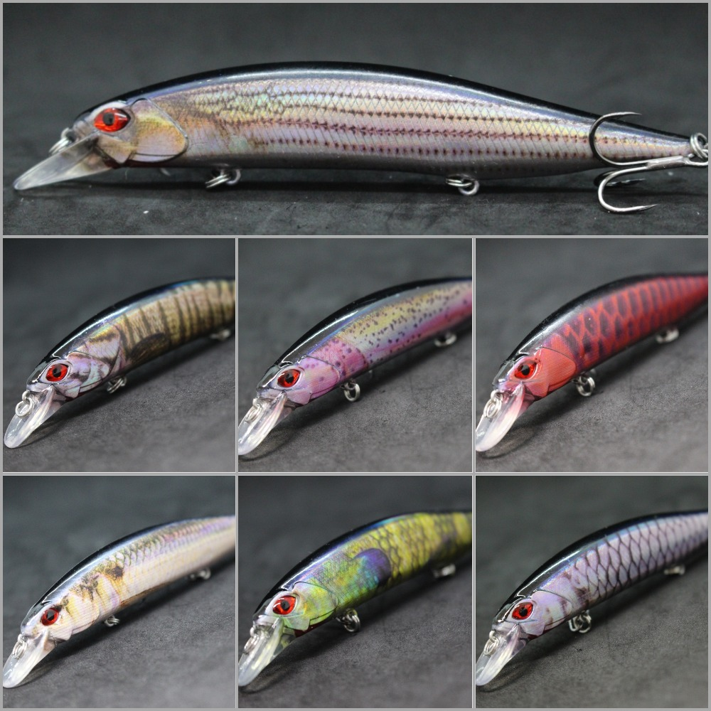 wLure 20g 13cm Slow Floating Jerkbait Lifelike Painting Cutting Blade Treble Hooks Weight Transfer Minnow Fishing Lure HM401(China)