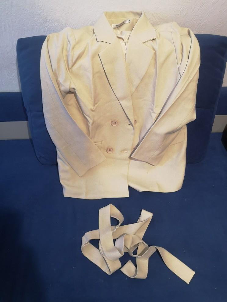 Autumn Winter  Women Lace Up Pant Suit Notched Blazer Jacket & Pant Office Wear Suits Female Sets reviews №4 115319