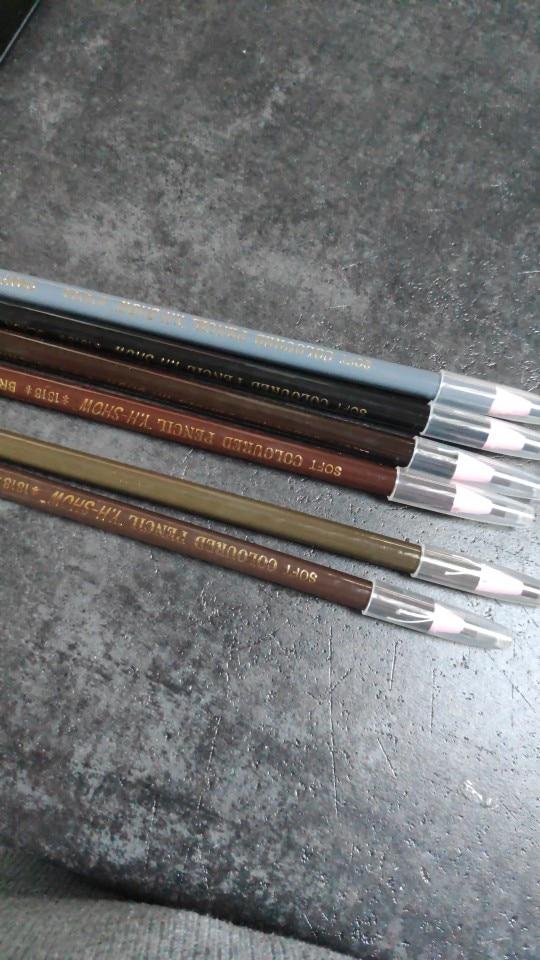 Caixa com 12 Lápis Dermograficos Profissional 100% Original + Frete Grátis (Pretos) photo review