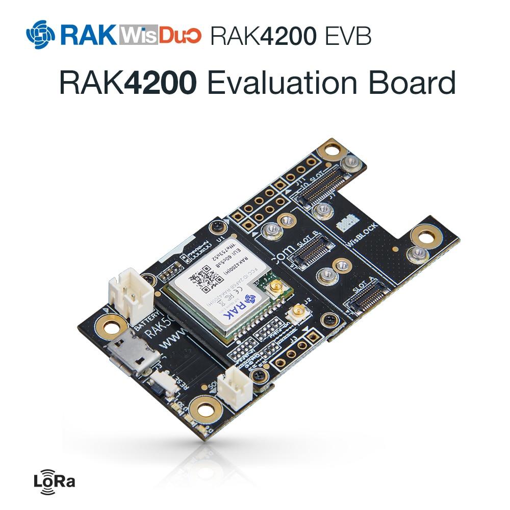 RAK4200 Evaluation Board Is A WisBlock Product Consisting Of RAK4200 LoRa Module And RAK5005. 862 To 1020MHz