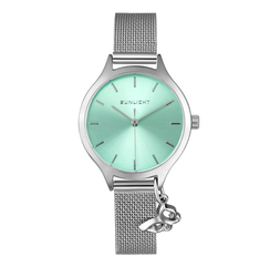 Women's watches with a pendant on the Milan bracelet sunlight