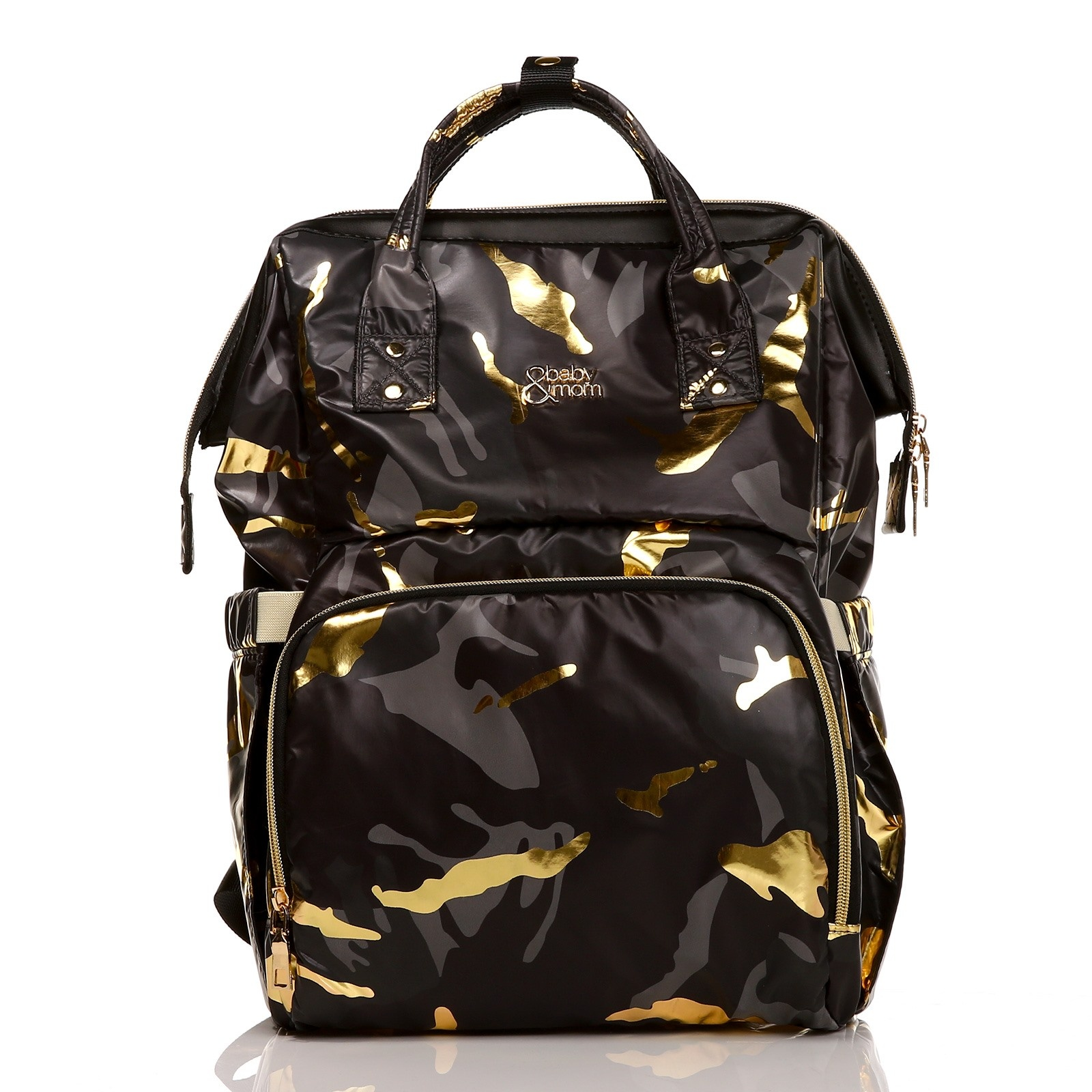 Ebebek Babymom Baby&Mom Multipurpose Travel Camouflage Backpack Bag