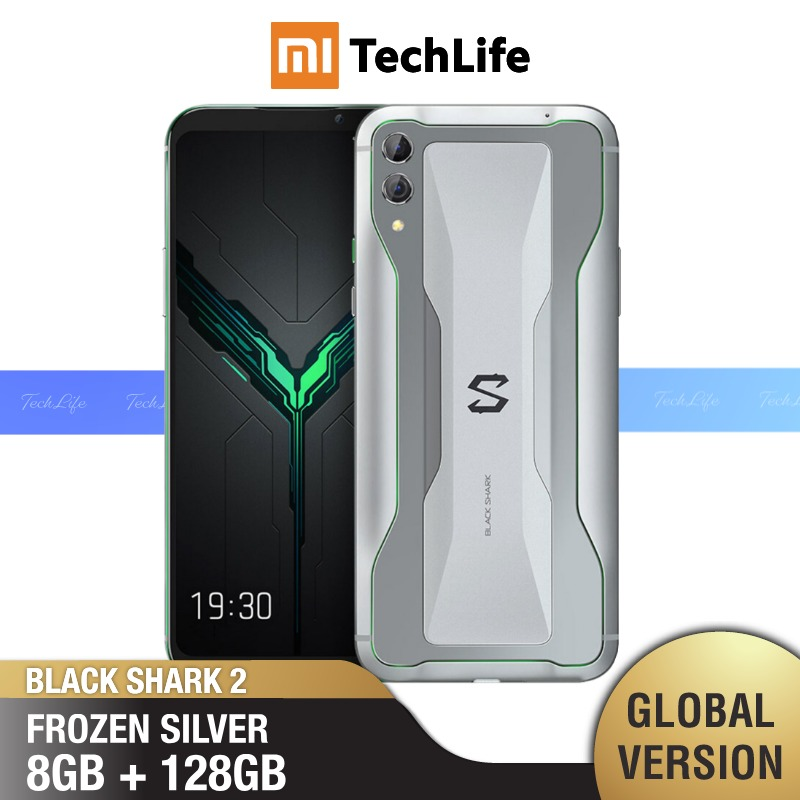 Global Version Xiaomi Black Shark 2 128GB ROM 8GB RAM Shadow Black, Fronzen Silver, Glory Blue (Brand New / Sealed) Blackshark2