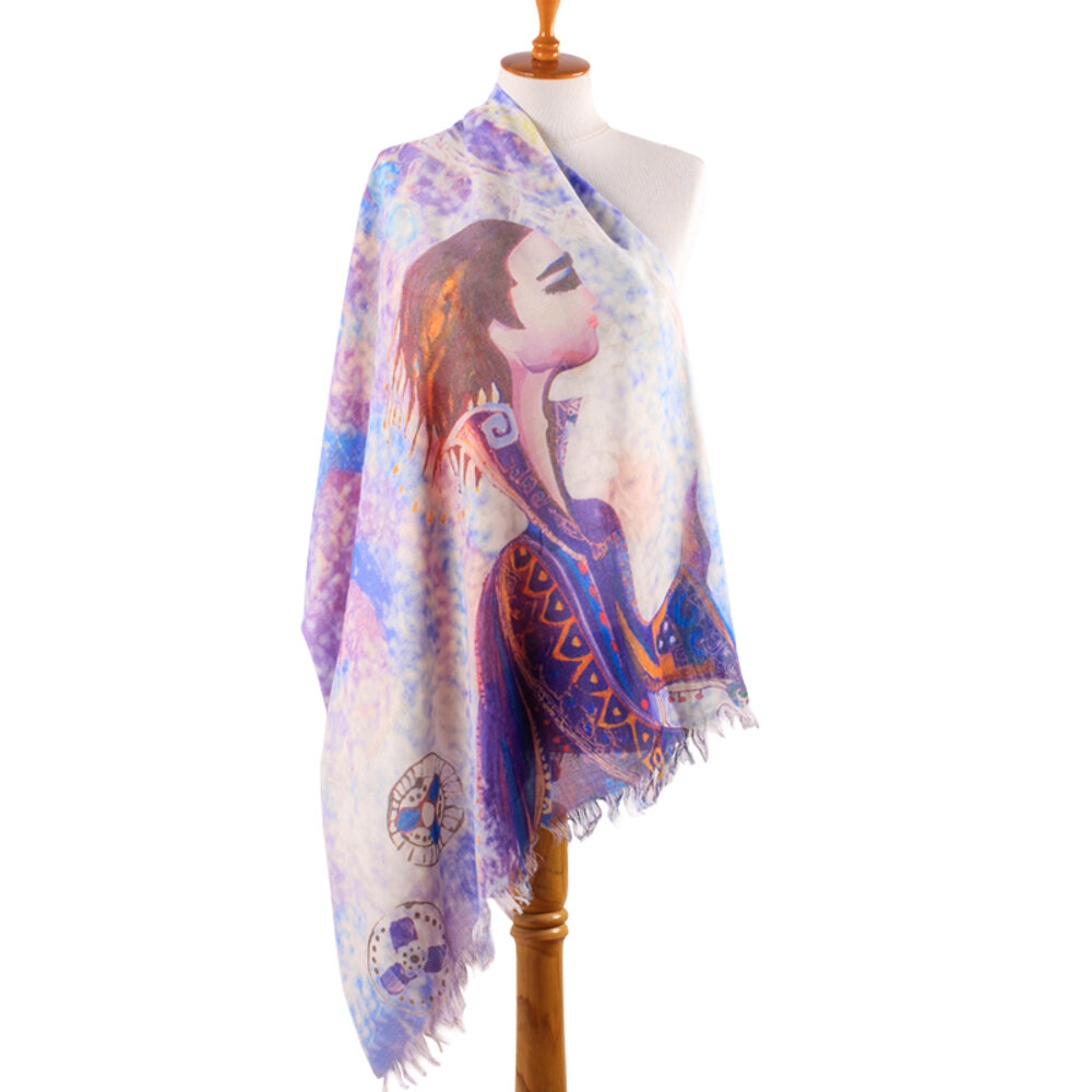 BiggDesign Love Scarf By Canan Barber