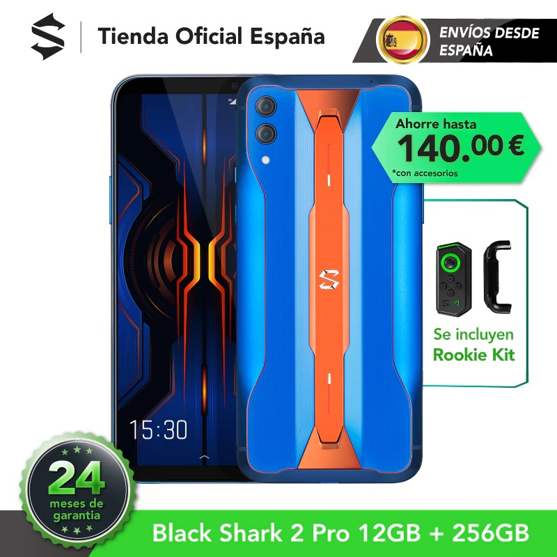 EU Version Xiaomi Black Shark 2 PRO 12G 256G (24 months official warranty) LATEST ARRIVAL!