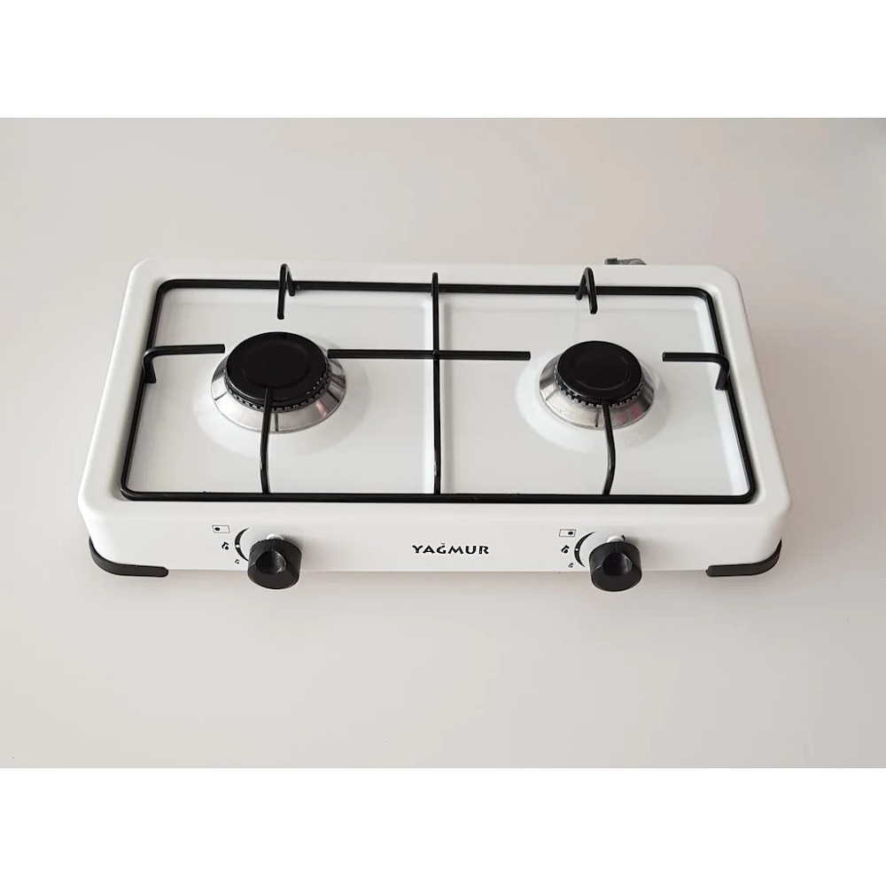 Portable Propane or Natural Gas 2 Burner CONTERTOP MODEL Kitchen Cooktop Stoves Hob Cooking Appliance Cookware Dual Cooker