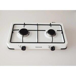 Portable Propane ou gaz naturel 2 brûleurs cuisinière modèle cuisine table de cuisson poêles plaque de cuisson appareil de cuisson ustensiles de cuisine double cuisinière