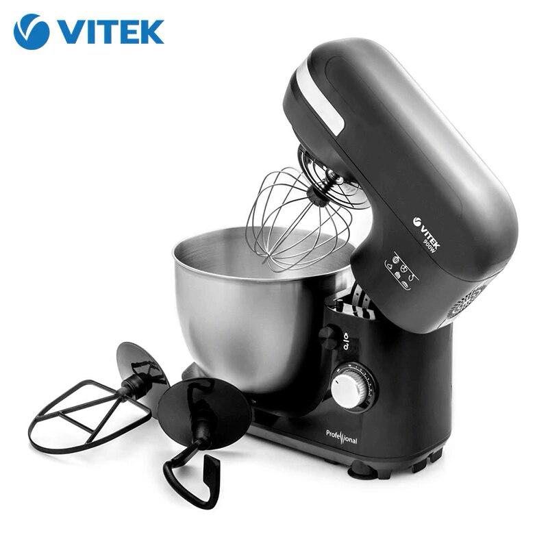 เครื่อง Vitek VT-1431 เครื่องผสมอาหารดาวเคราะห์สำหรับห้องครัวแป้งเครื่องใช้ไฟฟ้า