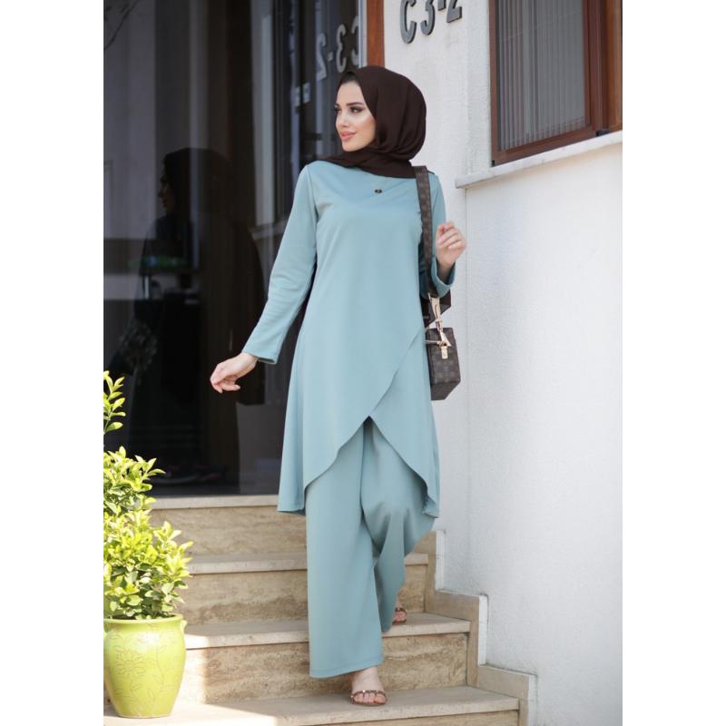 Muslim Woman's Clothing Dress Hijabi Suit European Clothing turkish clothes for women autumn Moroccan kaftan Moroccan tagine eid