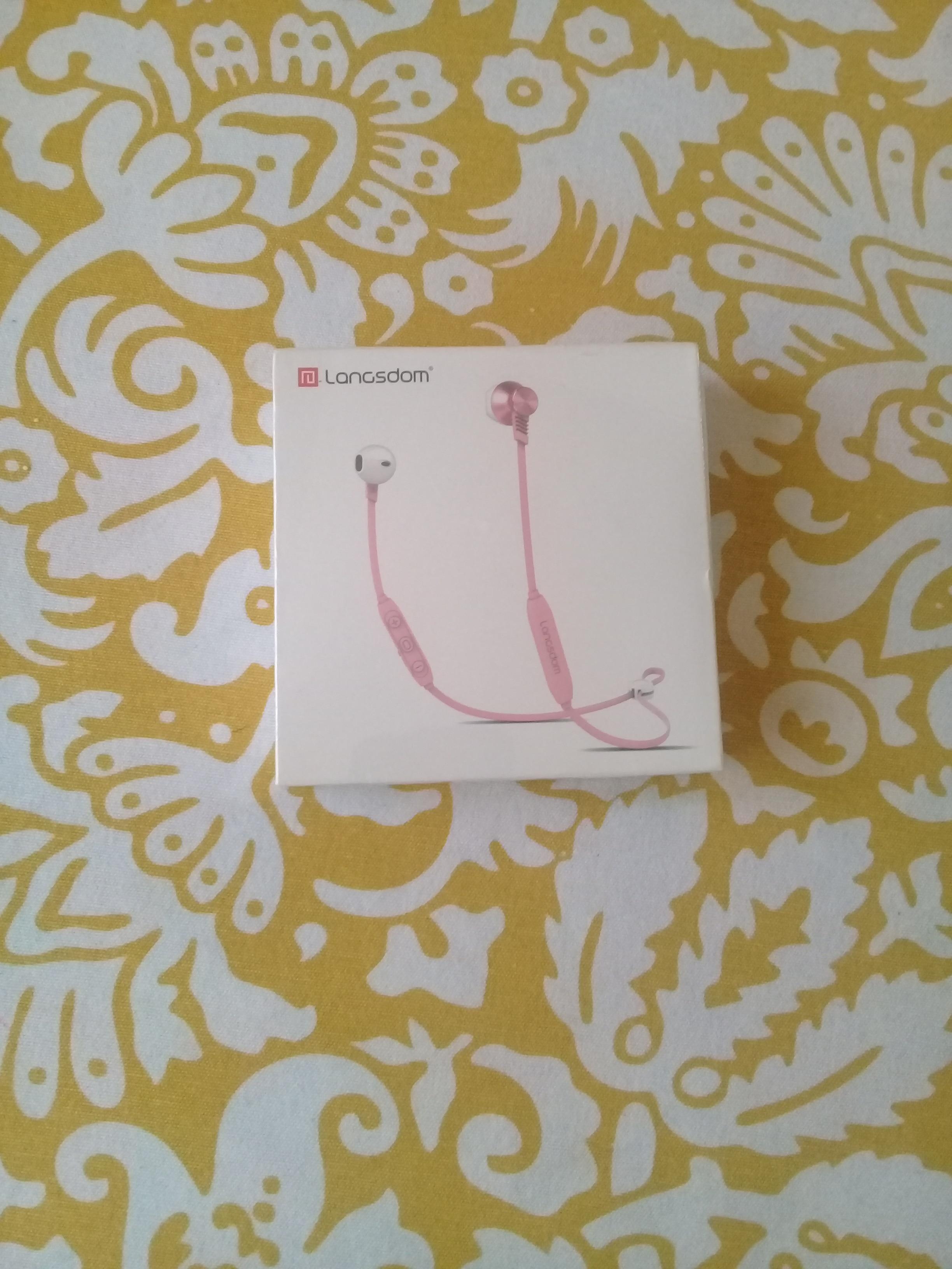 Langsdom Headphone Wireless Bluetooth Earphone for Xiaomi Bass Wireless Headphones with Mic Half In ear Headset Earbud for Phone|Bluetooth Earphones & Headphones| |  - AliExpress