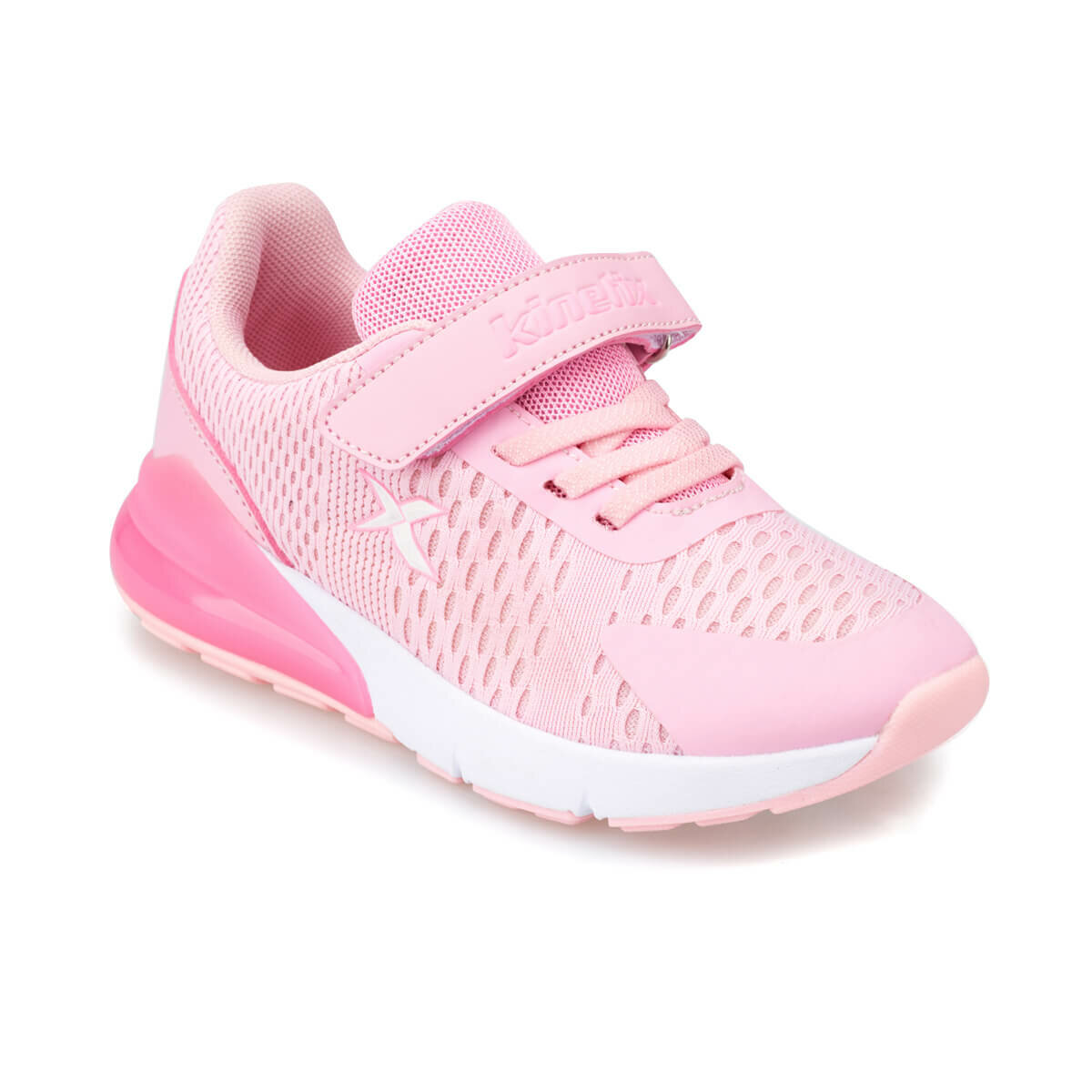 FLO FUZZY Pink Female Child Running Shoes KINETIX