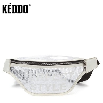 Women's Waist Bag White Keddo