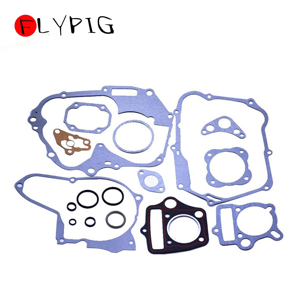 50 70 90 110 <font><b>125cc</b></font> <font><b>Engine</b></font> Gaskets Set with Oil Seals for Honda Chinese Pit Dirt Bike @15 image