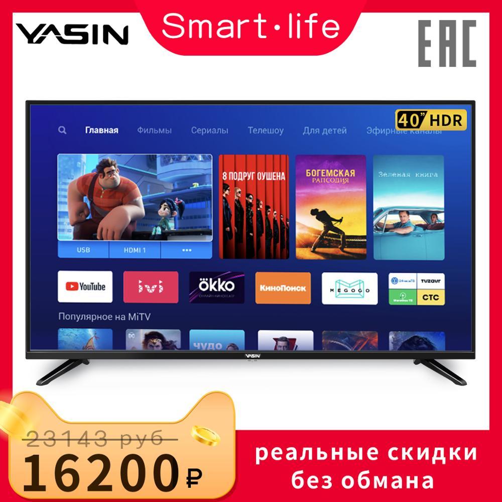 TV 4к 40 E8000 40PL12TC HD TV YASIN 4 K 40inchtv Smart + TV Telefunken LG TV