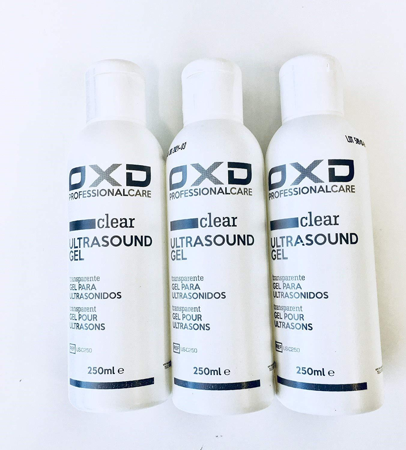 OXD conductive Gel for cavitation and promotion Ultrasonic 3X2