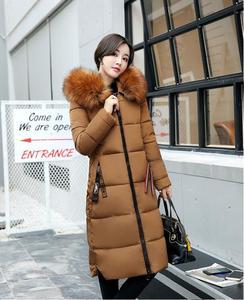 Image 3 - Женское высококачественное пальто Hiver, длинное платье, 2019
