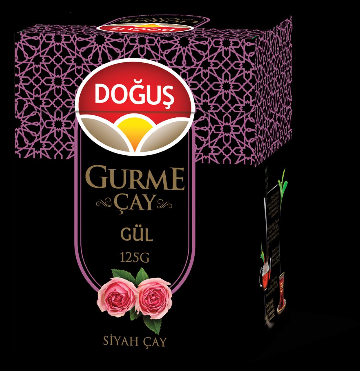 Turkey Native Nativity Gourmet Flavored Black Tea 125g Rose Flavored Teapots     - title=