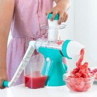 Juicy joy suco e máquina de sorvete com alça