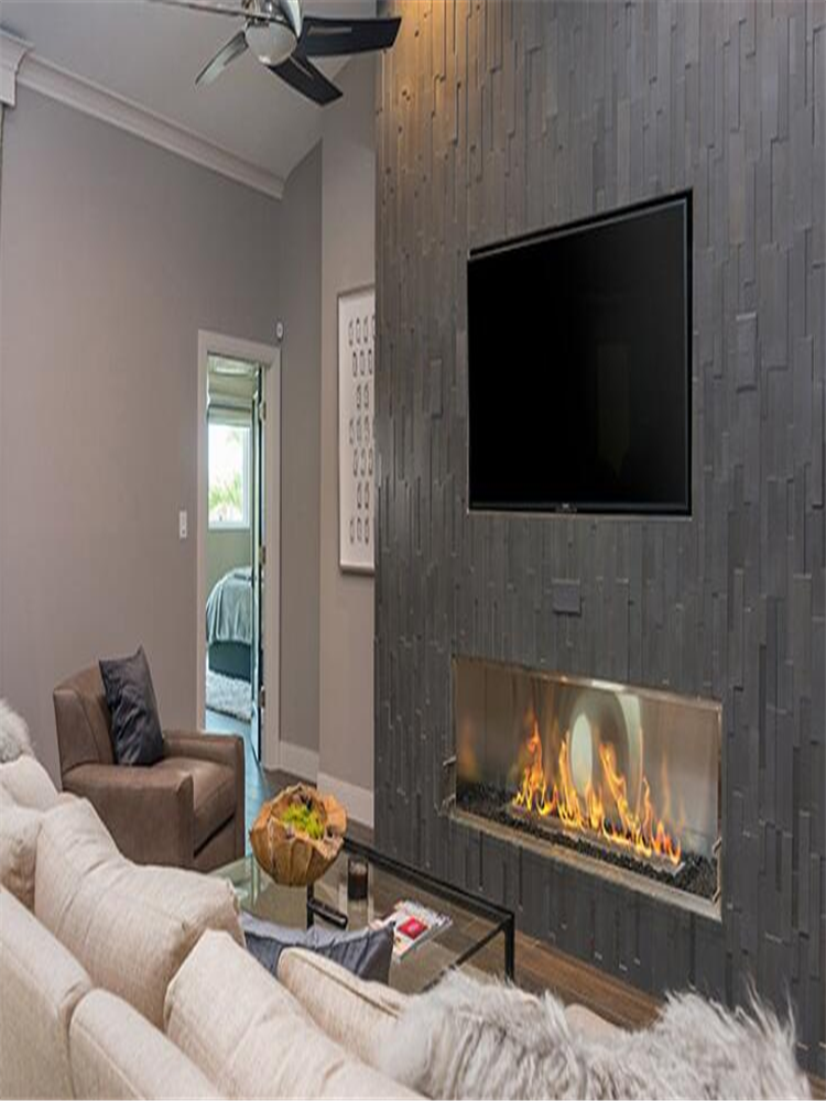48 Inch Wifi Intelligent Smart Alexa Wlan Zwave Ethanol Fireplace Camino Bioetanolo