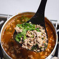 泰国美食酸辣猪肉沫汤的做法图解16