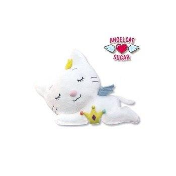 Angel Cat plush doll 50cm sleeping