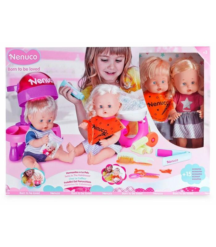 Nenuco Little Brothers To The Hairdresser C/2 Dolls Toy Store